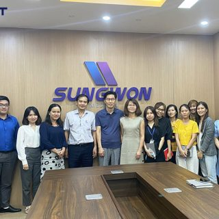 Kick off dự án DIGINET ERP cho công ty TNHH Sungwon Medical