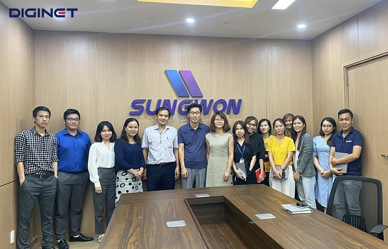 Kick off dự án DIGINET ERP cho công ty TNHH Sungwon Medical