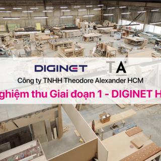 Nghiệm thu dự án phần mềm DIGINET HR cho Công ty Theodore Alexander HCM